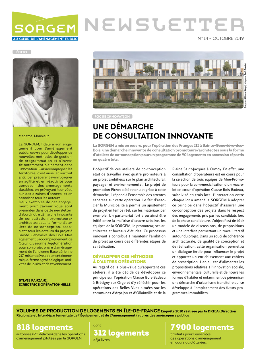 Newsletter SORGEM N°21, oct 2019